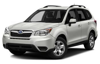2016 Subaru Forester - Crystal White Pearl