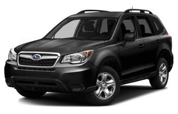 2016 Subaru Forester - Crystal Black Silica