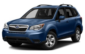 2016 Subaru Forester - Quartz Blue Pearl