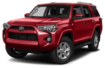 2017 Toyota 4Runner - Barcelona Red Metallic