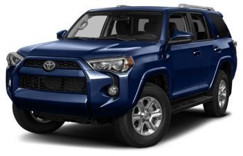 2017 Toyota 4Runner - Nautical Blue Metallic