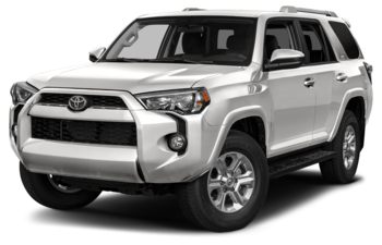 2017 Toyota 4Runner - Alpine White
