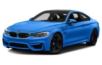 2017 BMW M4 - Santorini Blue II