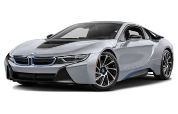 2017 BMW i8 - Ionic Silver Metallic w/BMW i Frozen Blue Accent
