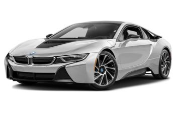 2017 BMW i8 - Crystal White Pearl w/Frozen Grey Accent