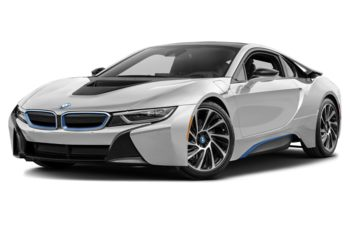 2017 BMW i8 - Crystal White Pearl w/BMW i Frozen Blue Accent