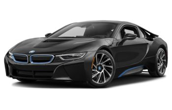 2017 BMW i8 - Sophisto Grey Metallic w/BMW i Frozen Blue Accent