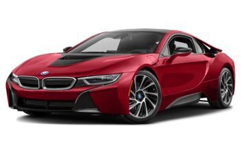 2017 BMW i8 - Protonic Red w/Frozen Grey Accent