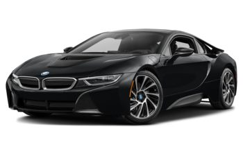 2017 BMW i8 - Protonic Frozen Black w/Frozen Grey Accent