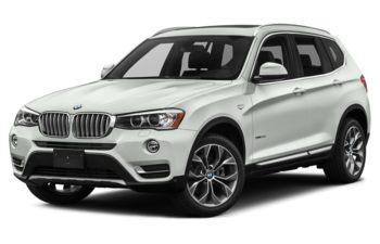 2017 BMW X3 - Alpine White