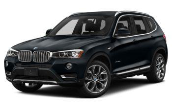 2017 BMW X3 - Carbon Black Metallic