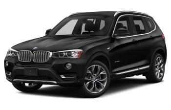 2017 BMW X3 - Black Sapphire Metallic