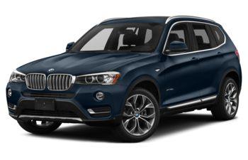 2017 BMW X3 - Deep Sea Blue Metallic