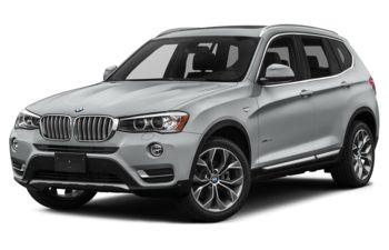 2017 BMW X3 - Glacier Silver Metallic