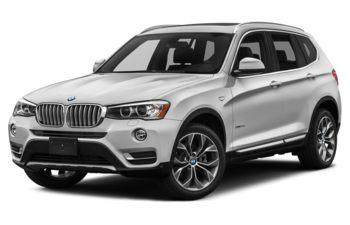 2017 BMW X3 - Mineral White Metallic