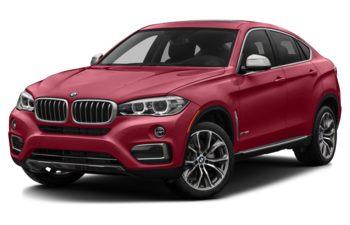 2017 BMW X6 - Flamenco Red Metallic