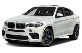 2017 BMW X6 M - Alpine White