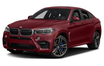 2017 BMW X6 M - Melbourne Red Metallic