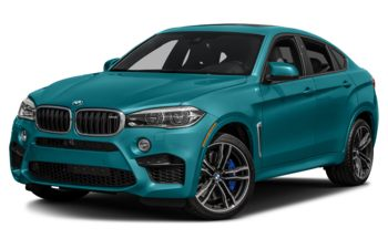 2017 BMW X6 M - Long Beach Blue Metallic