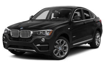 2017 BMW X4 - Black Sapphire Metallic