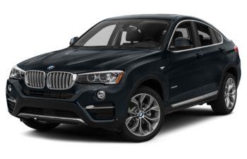2017 BMW X4 - Carbon Black Metallic