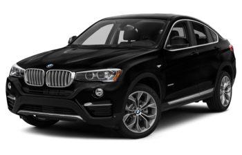 2017 BMW X4 - Jet Black
