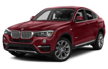 2017 BMW X4 - Melbourne Red Metallic