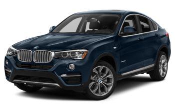 2017 BMW X4 - Deep Sea Blue Metallic