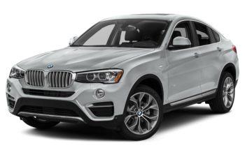 2017 BMW X4 - Glacier Silver Metallic