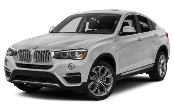 2017 BMW X4 - Mineral White Metallic
