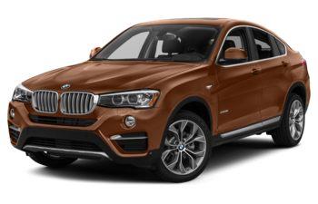 2017 BMW X4 - Chestnut Bronze Metallic