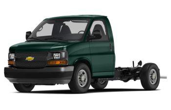 2017 Chevrolet Express Cutaway - Woodland Green