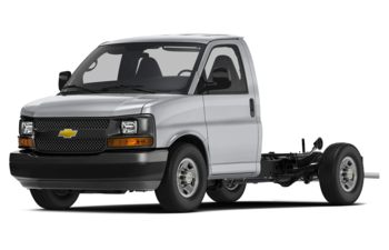 2017 Chevrolet Express Cutaway - Silver Ice Metallic