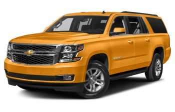 2017 Chevrolet Suburban - Wheatland Yellow