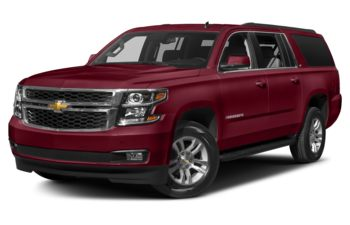2018 Chevrolet Suburban 3500HD - Siren Red Tintcoat