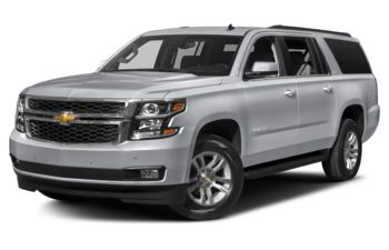 2018 Chevrolet Suburban 3500HD - Silver Ice Metallic
