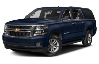 2017 Chevrolet Suburban 3500HD - Blue Velvet Metallic