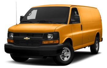 2017 Chevrolet Express 2500 - Wheatland Yellow