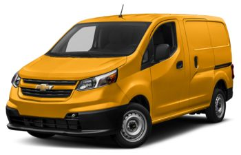 2017 Chevrolet City Express - Sunglow Yellow