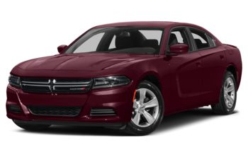 2017 Dodge Charger - Octane Red