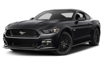 2017 Ford Mustang - Shadow Black