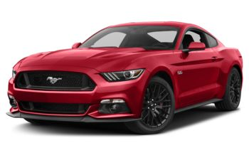 2017 Ford Mustang - Race Red