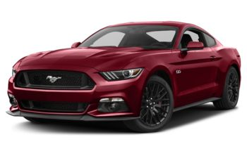 2017 Ford Mustang - Ruby Red Metallic Tinted Clearcoat