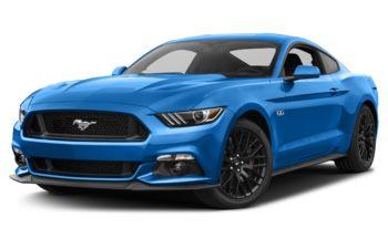 2017 Ford Mustang - Grabber Blue