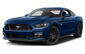 2017 Ford Mustang - Lightning Blue Metallic