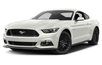 2017 Ford Mustang - White Platinum Metallic Tri-Coat