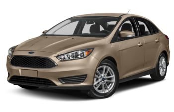 2018 Ford Focus - White Gold