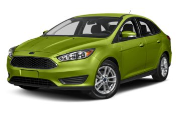 2018 Ford Focus - Outrageous Green Metallic Tinted Clearcoat