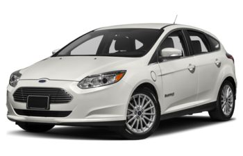 2018 Ford Focus Electric - White Platinum Metallic Tri-Coat