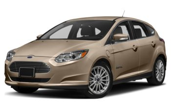 2018 Ford Focus Electric - White Gold